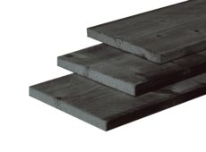 Douglas zwart gedompeld plank douglas