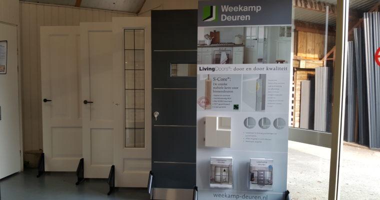 Showroom deuren assortiment weekamp-deuren dedemsvaart houthandel woertink hardenberg rheeze ommen